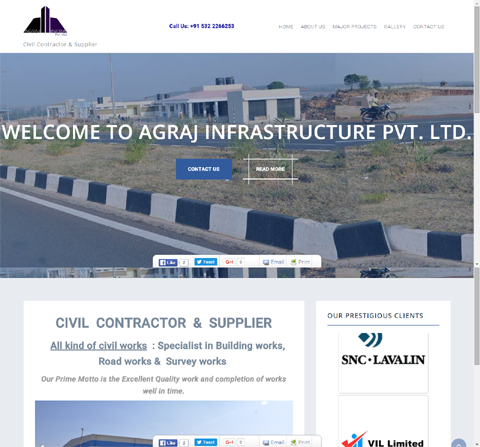 Agraj Infrastructure Pvt. Ltd.