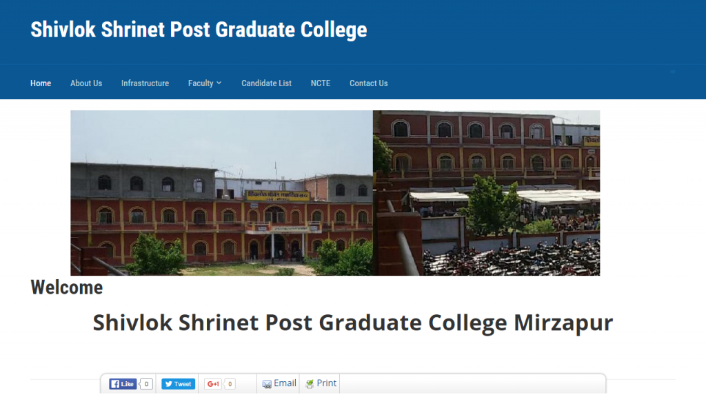 Shivlok Shrinet Post Graduate College